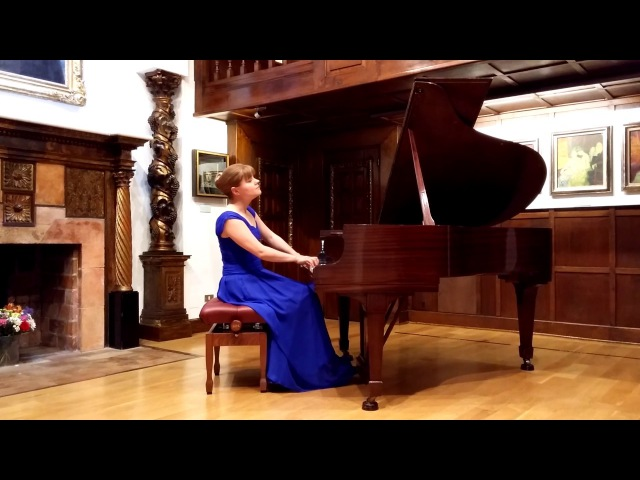 Albina Jimenez Soriano plays Liszt La Romanesca S 252b 2nd version