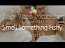 English Lesson # 133 – To Smell Something Fishy – Idiom  (Learn English Vocabulary & Phrases)