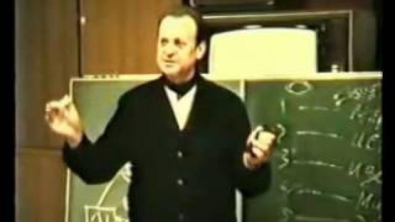 Отрывок из лекции в ФСБ Вред алкоголя Ефимов В А