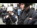 Румыния: Насилие вспыхивает во время про-накидной марша в Бухаресте.