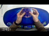 Rubik's clock NR 6.69 avg, 5.31 single (Fyodor Borisov)