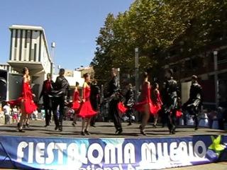 В ритме танго-Народный коллектив анс.танца Адастра Испания. 2012