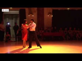 2015 Gisela and Gustavo dance tango to Maquillaje at Cheltenham International Tango Festival