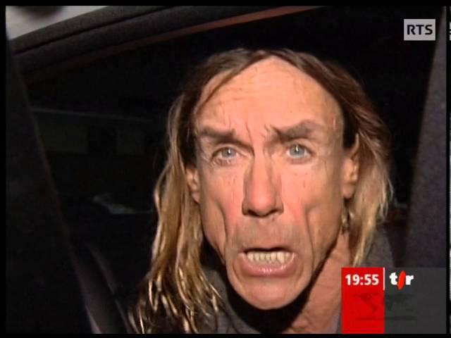 Iggy Pop naime pas la Techno ! - Iggy Pop hates Techno (2007)
