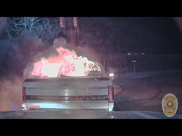 Герои среди нас. Полиция вытаскивает людей из огня.| PARTCAR