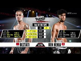 GLORY 39 Brussels Tyjani Beztati vs Sabri Ben Henia (720HD SuperFightSeries)