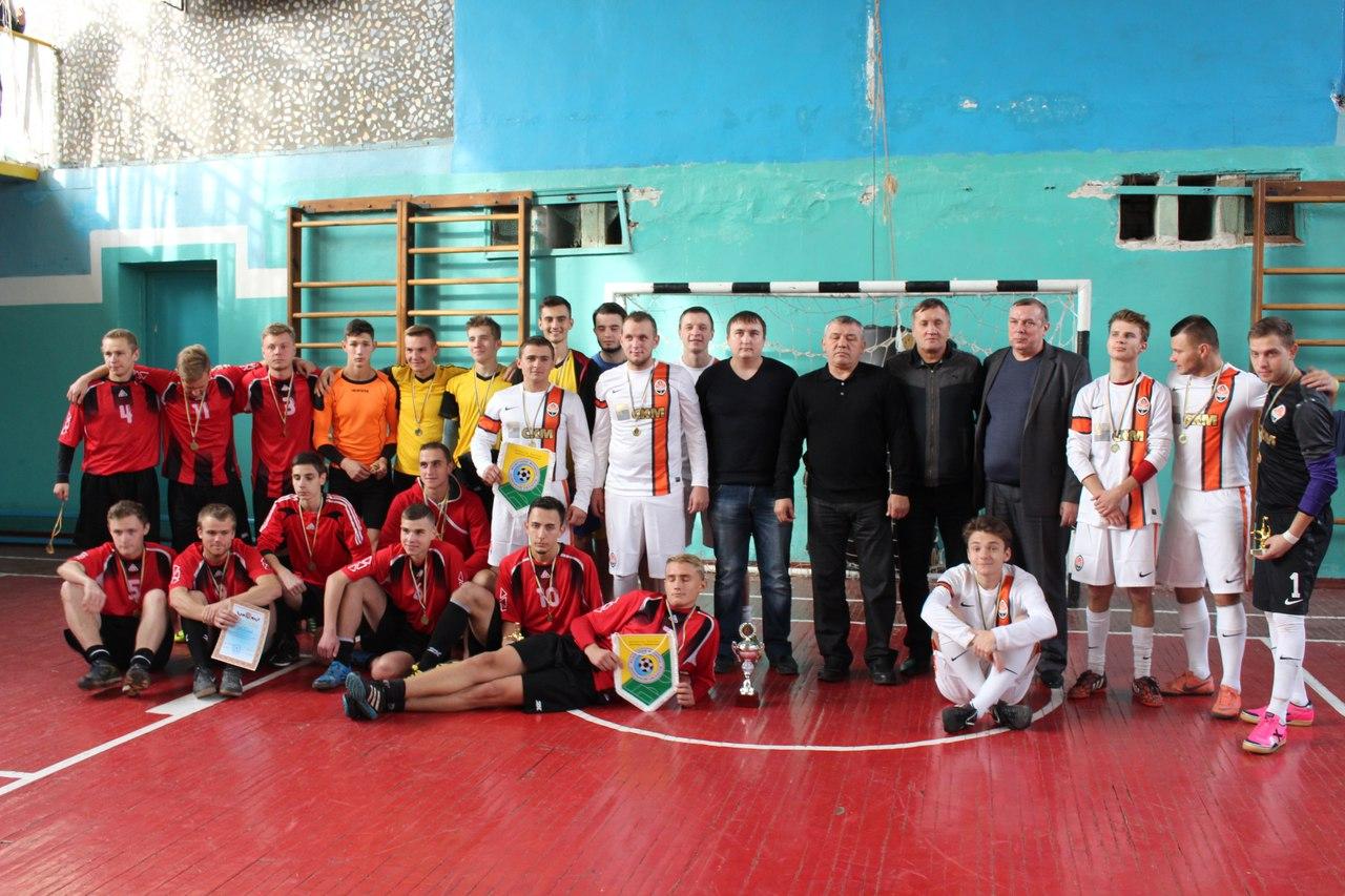 В соревнованиях приняли участие футзальные команды четырех Вузов Краматорска и Славянска.