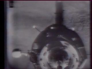Стыковка корабля «Прогресс-1» с ДОС «Салют-6»