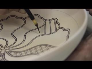 Красота традиционной японской керамической живописи