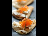 Salmon Caviar Sandwiches - Global Seafoods