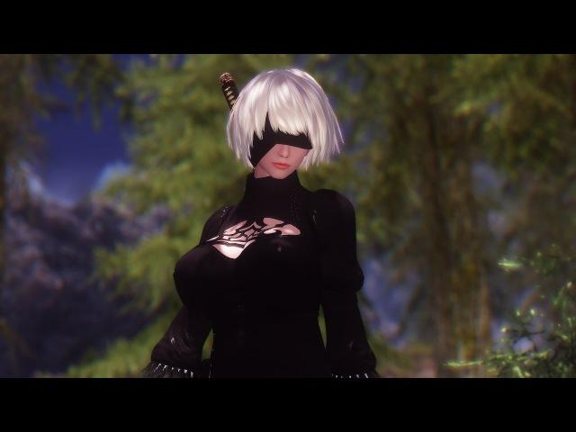 Skyrim - Sexy Dance (2B, Nier Automata) - Garnidelia -