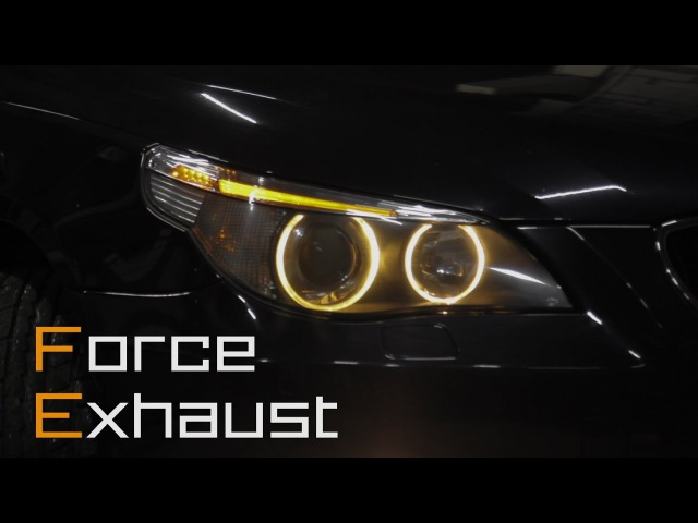 BMW E60 N54B30 by Force Exhaust