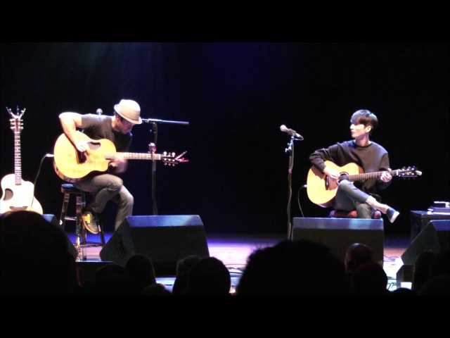 (Crowded House) Don't Dream It's Over - Sungha Jung and Trace Bundy (live)