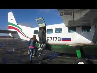Посадка в Cessna Grand Caravan