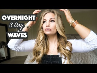 Overnight 3 Day Wavy Hair