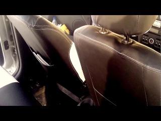 Авточехлы Лада Ларгус экокожа Лада Ларгус Кросс 5 мест 7 мест популярные авточехлы на сиденья к
