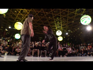 GUCCHON vs DAI @ POPPING FOREVER JAPAN 2016 BEST 12 BATTLE