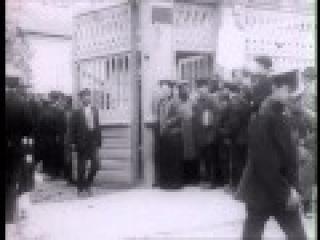 Отъезд Л.Н. Толстого из дома в Хамовниках на Курский вокзал. Хроника 1909 г.