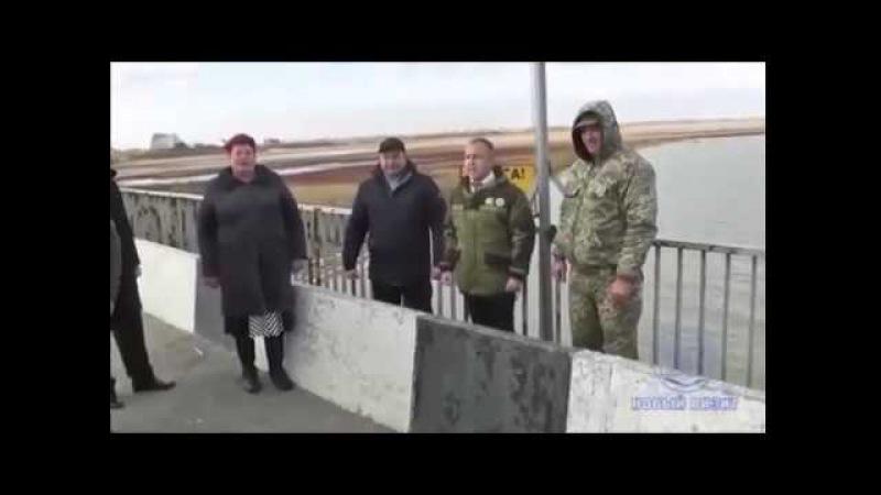 Упоротость кострюлеголовых зашкаливает Опять устроили шоу у границы с Крымом,