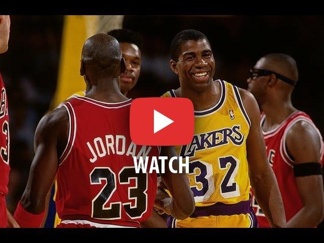 NBA Finals 1991. Chicago Bulls @ LA Lakers. Game 4. Jordan 29135, Magic 22116. Full game.