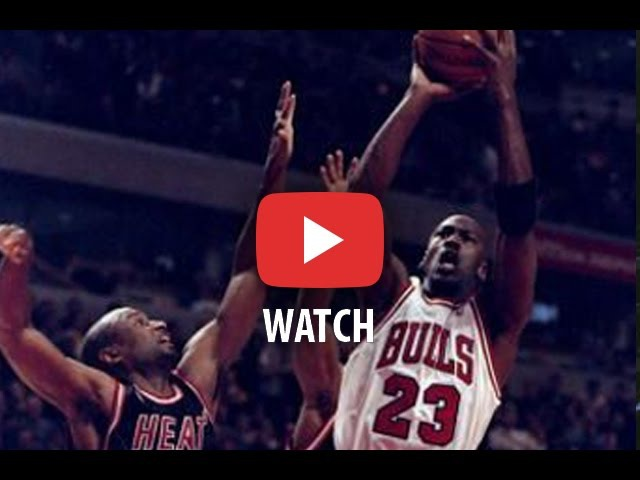 NBA Playoffs 1992. Miami Heat @ Chicago Bulls. Game 1. Jordan 46 pts 11 rbs 9 ast. Full game.