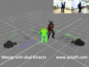 IPi Desktop Motion Capture with 2 Kinect