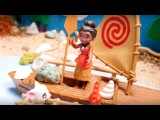 Disney Moana Toys for kids 👧 Moana Boat Adventure 🛥️ Disney Stories for Kids 🚜 Tractors for Kids
