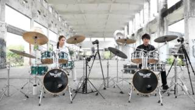 Drum duet 雙鼓合奏 by阿威26364;青