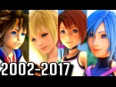 Kingdom Hearts ALL OPENINGS 2002-2017 PS2, PSP, PS4