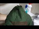 Парка-куртка Военторг армии России. Проверка на влагостойкость