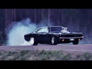 Dodge Charger 1968-1972 - Acceleration Burnout & Exhaust Sound