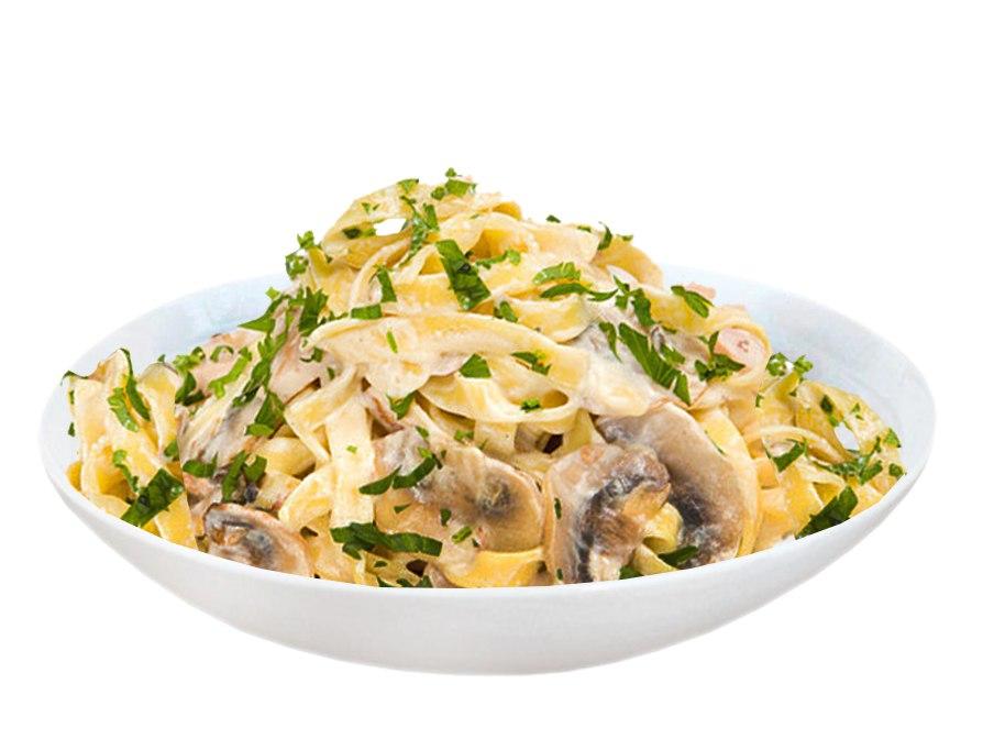 Заказать Феттучини с грибами с доставкой на дом в Серпухове, Суши-бар ТАЙХЕО