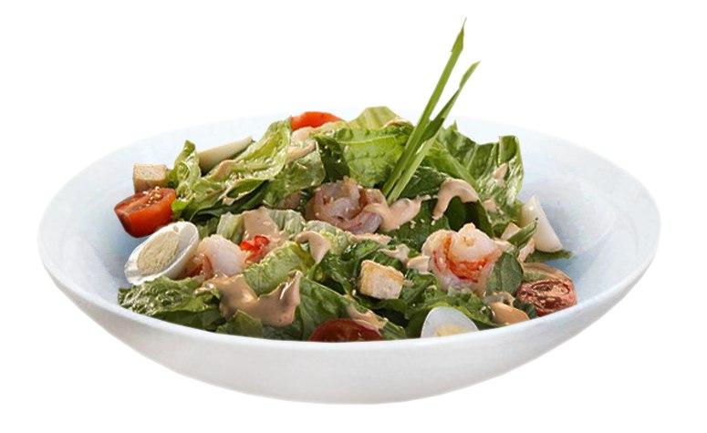 Заказать Салат острый с креветками с доставкой на дом в Серпухове, Суши-бар ТАЙХЕО