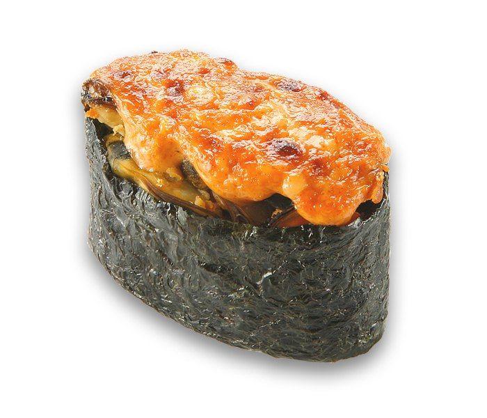 Заказать Суши Запеченные острые с крабом с доставкой на дом в Серпухове, Суши-бар ТАЙХЕО