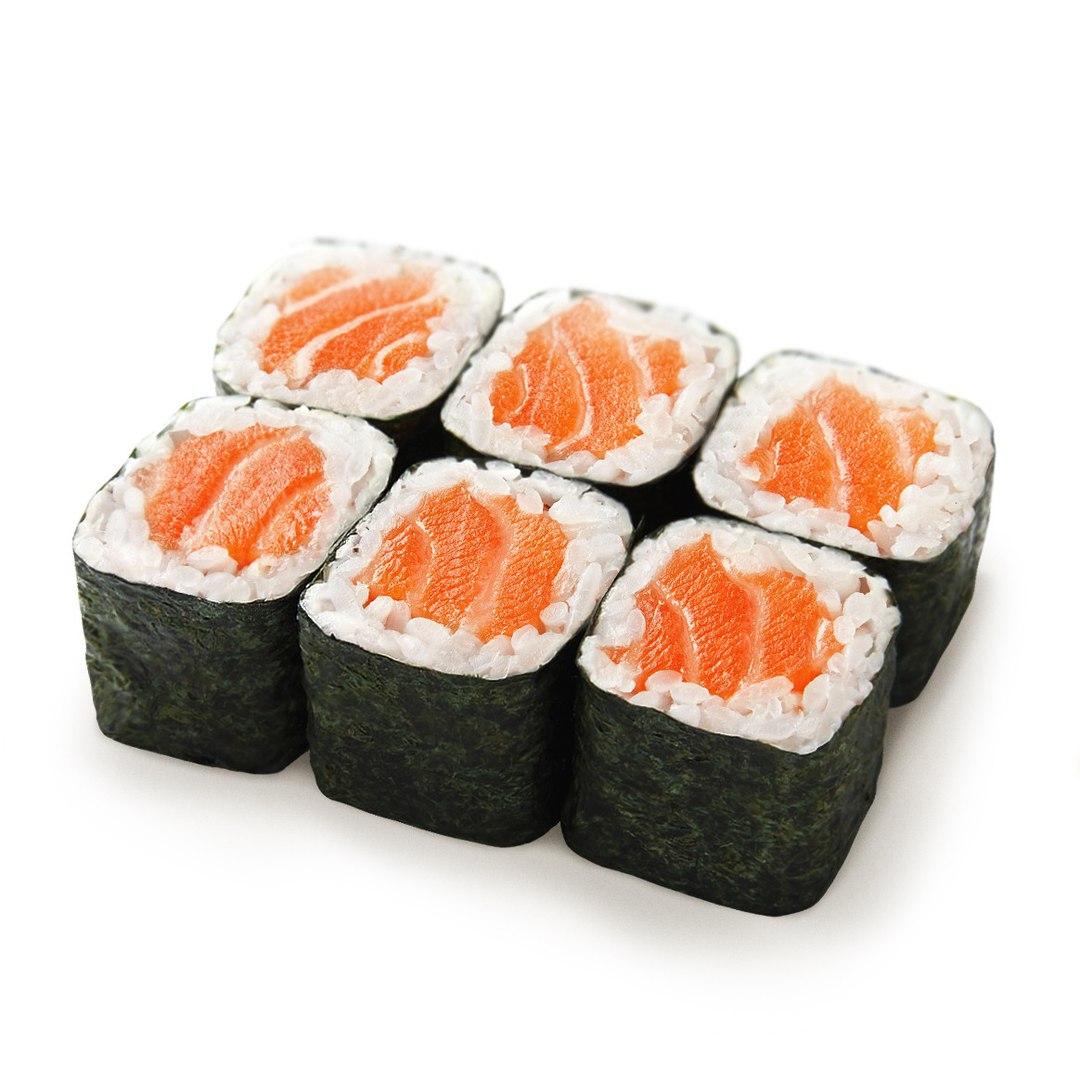 Заказать Ролл Копченный лосось с доставкой на дом в Серпухове, Суши-бар ТАЙХЕО