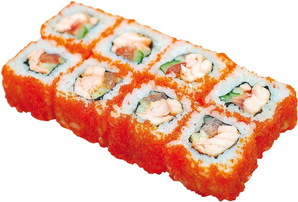 Заказать Ролл Биг спайс лосось с доставкой на дом в Серпухове, Суши-бар ТАЙХЕО