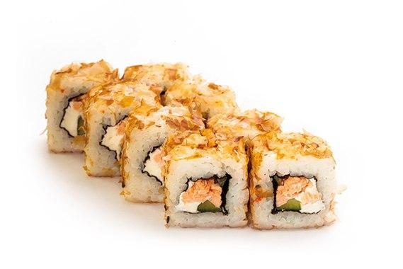 Заказать Ролл Бонито с лососем с доставкой на дом в Серпухове, Суши-бар ТАЙХЕО