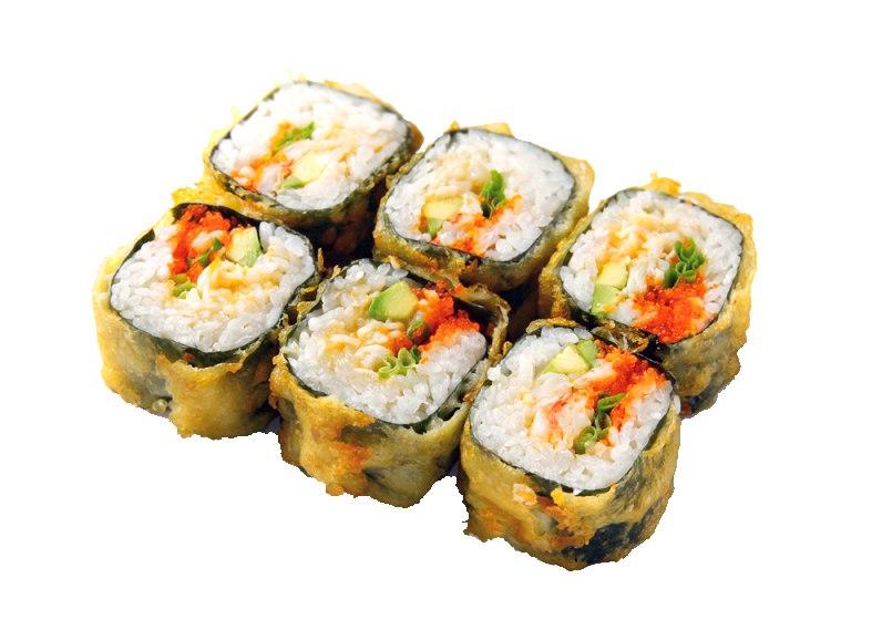 Заказать Калифорния темпура угорь  с доставкой на дом в Серпухове, Суши-бар ТАЙХЕО