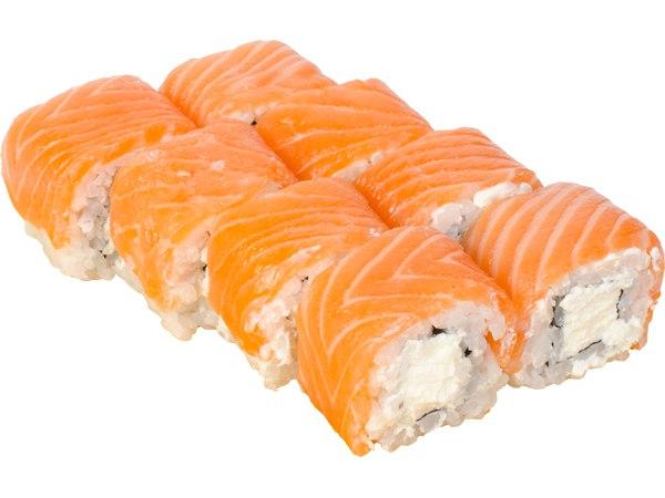 Заказать Ролл Сливочный лосось с доставкой на дом в Серпухове, Суши-бар ТАЙХЕО