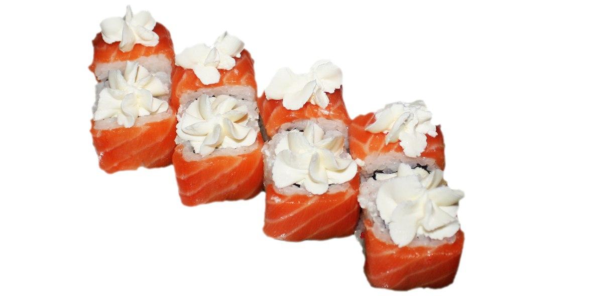 Заказать Ролл Сяке темпура с доставкой на дом в Серпухове, Суши-бар ТАЙХЕО