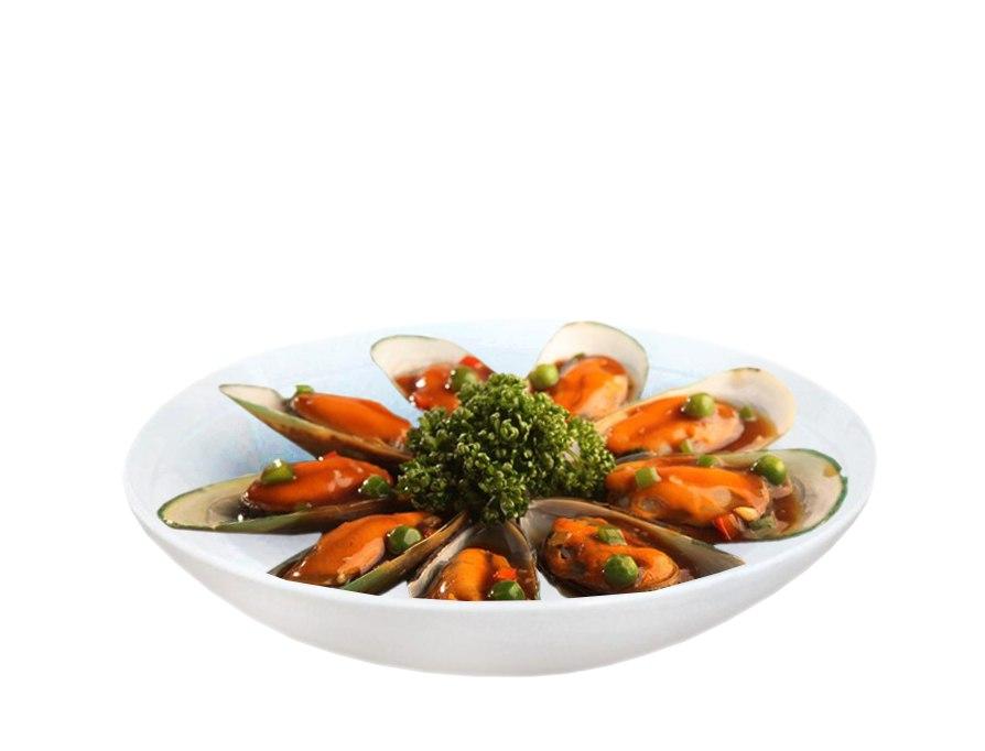 Заказать Мидии в соевом соусе с доставкой на дом в Серпухове, Суши-бар ТАЙХЕО