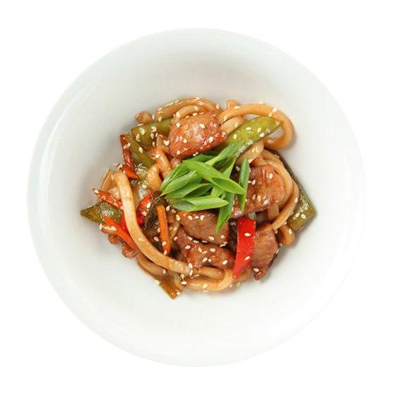 Заказать Со свининой и овощами с доставкой на дом в Серпухове, Суши-бар ТАЙХЕО