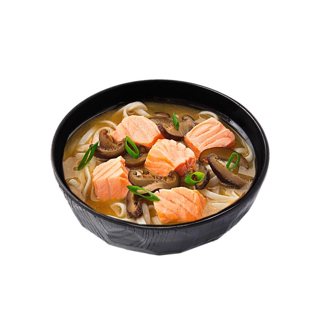 Заказать Суп-лапша с лососем с доставкой на дом в Серпухове, Суши-бар ТАЙХЕО