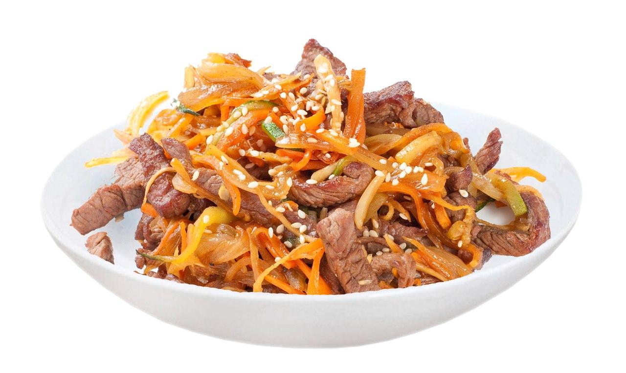 Заказать Говядина с овощами в чесночном соусе с доставкой на дом в Серпухове, Суши-бар ТАЙХЕО