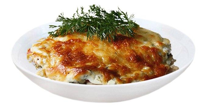 Заказать Запеченный лосось с сыром с доставкой на дом в Серпухове, Суши-бар ТАЙХЕО