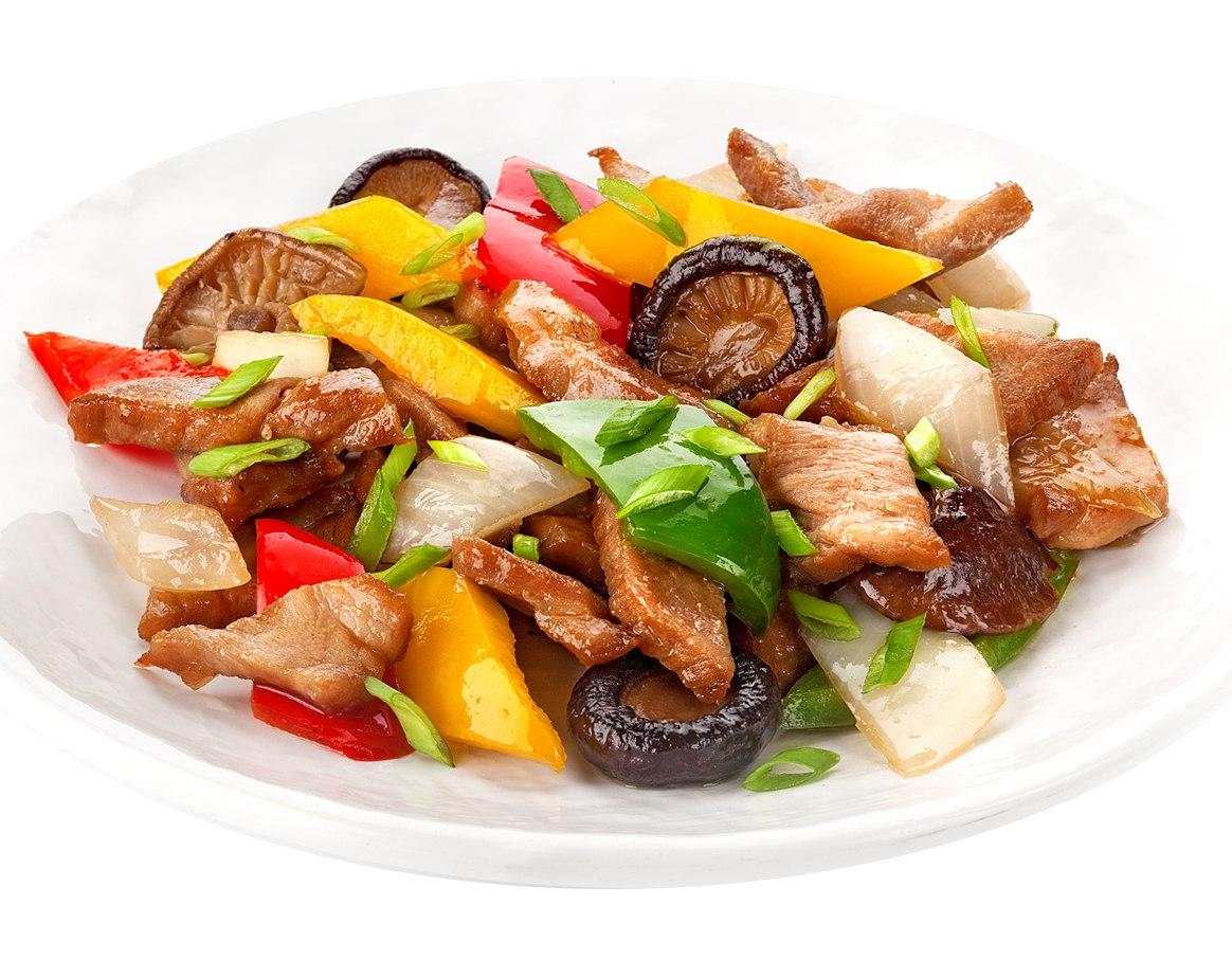 Заказать Свинина с овощами с доставкой на дом в Серпухове, Суши-бар ТАЙХЕО