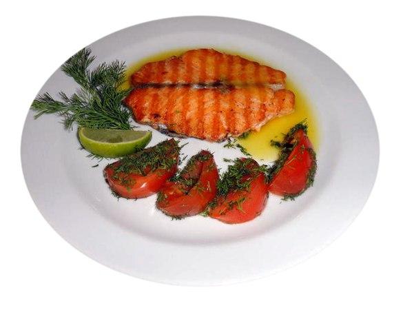 Заказать Стейк из лосося с доставкой на дом в Серпухове, Суши-бар ТАЙХЕО