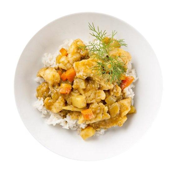 Заказать Японское карри с курицей с доставкой на дом в Серпухове, Суши-бар ТАЙХЕО