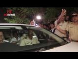 Shahrukh Khan attend Aishwarya Rai Bachchans father Krishnaraj Rais funeral