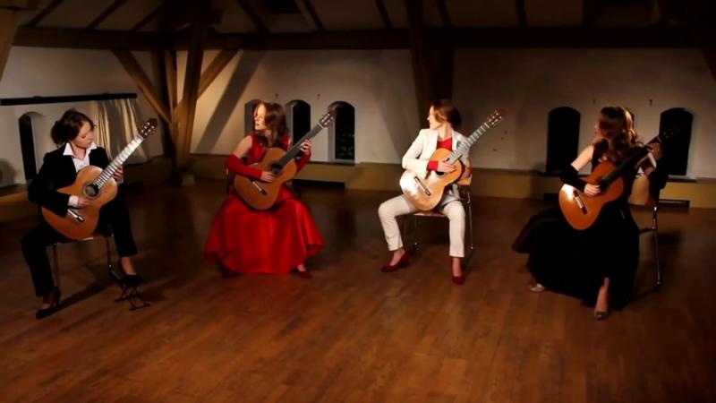 Tatyana Ryzhkova presents- Libertango by Tatyanas Guitar Q